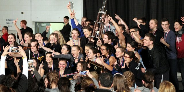 ''Pointe Singers'' from Grosse Pointe South are crowned Grand Champions at Bishop Luers