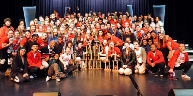 Both of North Central's top choirs - Counterpoints and Descants sweep their divisions at LC