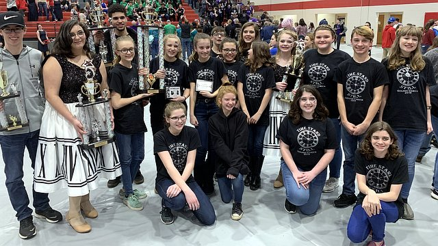 South Harrison Middle's ''Sound Check'' earn their first GC since 2015 after sweeping Cabell Midland's MS division