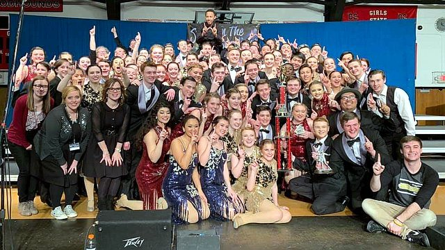 ''RAMification'' from Southeast Polk High School in Iowa are crowned Grand Champions of Fort Madison