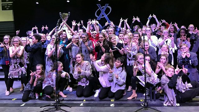 ''Adrenaline'' from Taft Middle School in Iowa take Grand Champion honors at Cedar Rapids Xavier's Xtravaganza