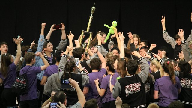 Dowling Catholic's ''Dimensions'' sweep Emmetsburg, claiming their first Grand Championship in six years